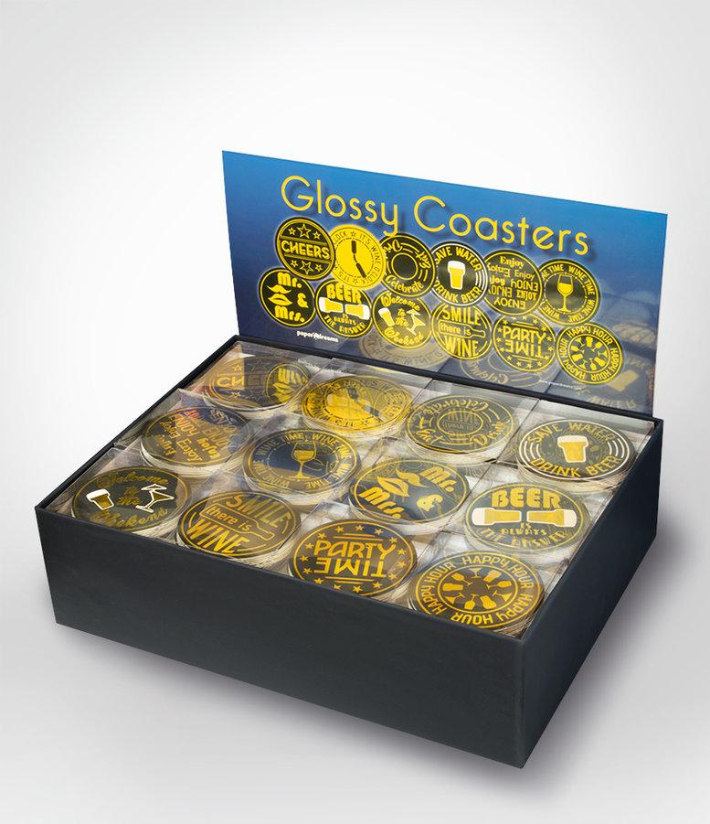 Glossy-Coasters