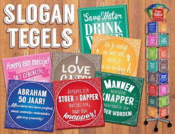 Slogan-Tegels