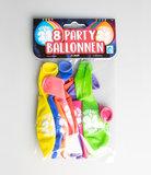 Party Ballonnen - 21 jaar verpakt per 8 stuks
