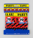 Feestelijke Party tape / Afzetlint 70 jaar_