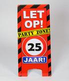 Warning Sign feest- 25 jaar_