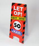 Warning Sign feest- 50 jaar
