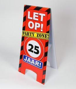 Warning Sign feest- 25 jaar