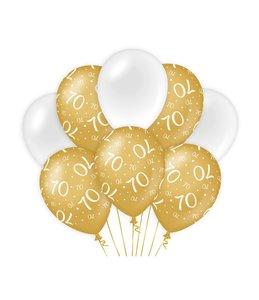 Balloons Gold/white - 70